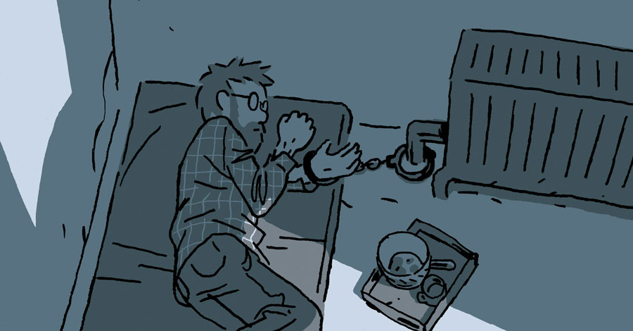 Smash Pages Q&A: Guy Delisle on 'Hostage'