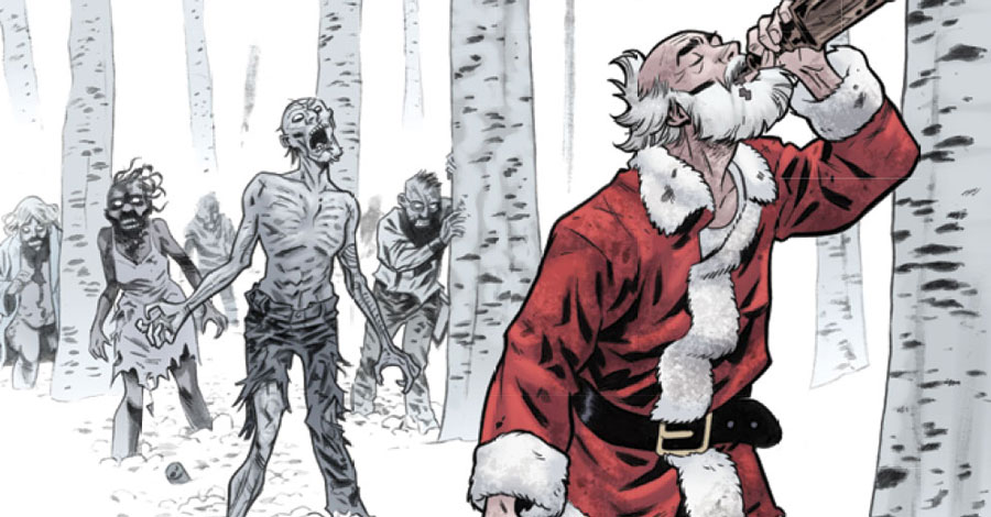 Santa Claus Is Coming To Dead Of Winter Preview Smash Pages