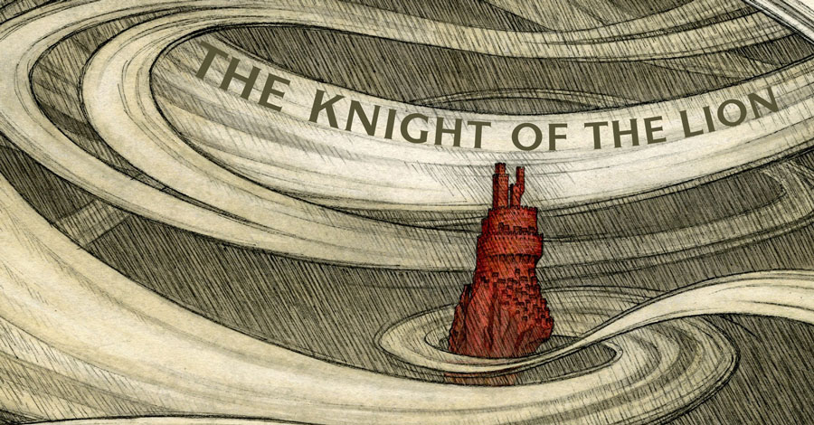 Smash Pages Q&A: Andrea Offermann on 'Yvain: The Knight of the Lion'
