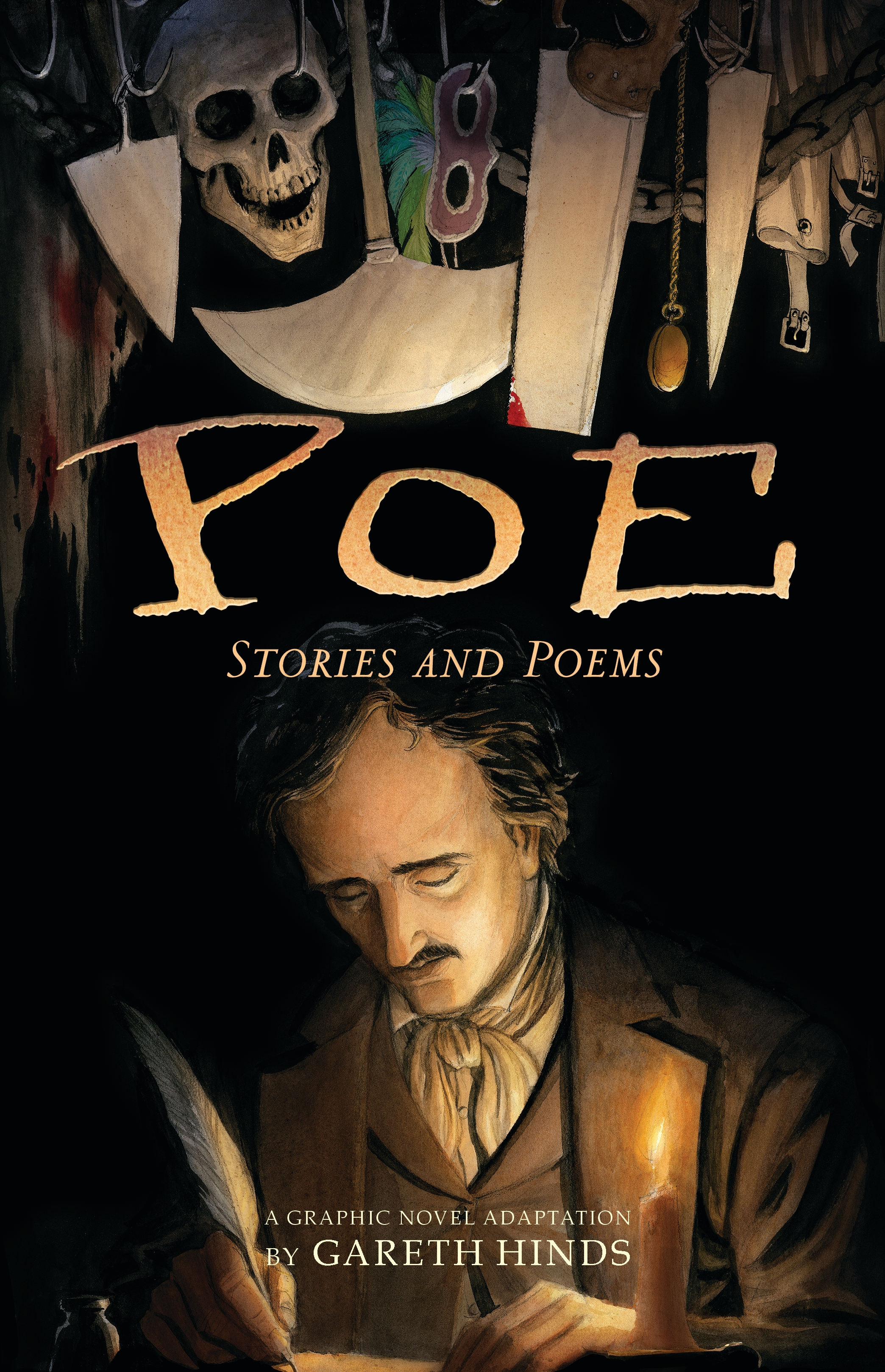 halloween q&a: gareth hinds on 'poe' – smash pages