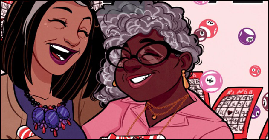 Image to publish Tee Franklin's 'Bingo Love'