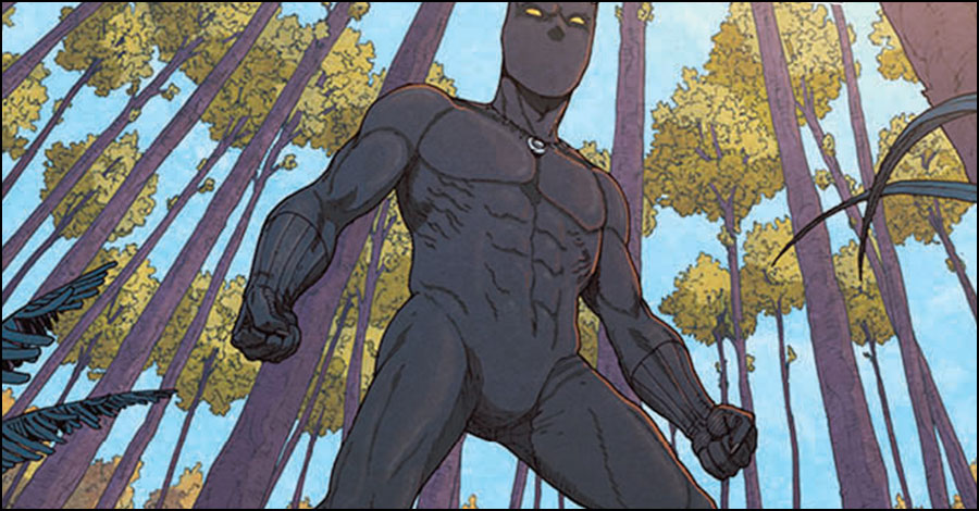 comiXology, Marvel announce 'Black Panther: Long Live The King'