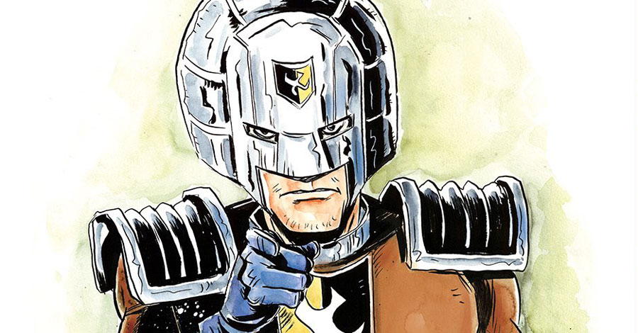 Giffen, Lemire working on 'Inferior Five' series with 'Peacemaker' back-ups