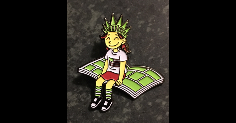 #GivingTuesday: Support the Comic Book Legal Defense Fund (and get a pin)
