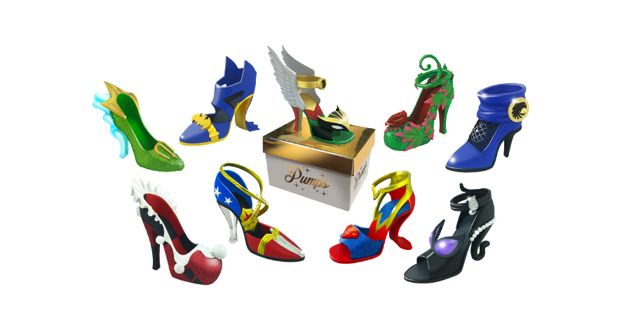 Cryptozoic pumps it up with collectible DC high heels