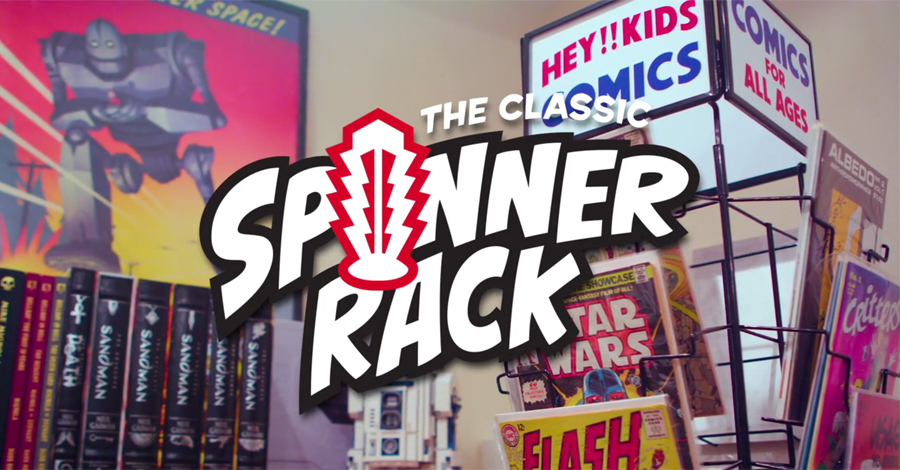 Help kickstart a classic comic book spinner rack