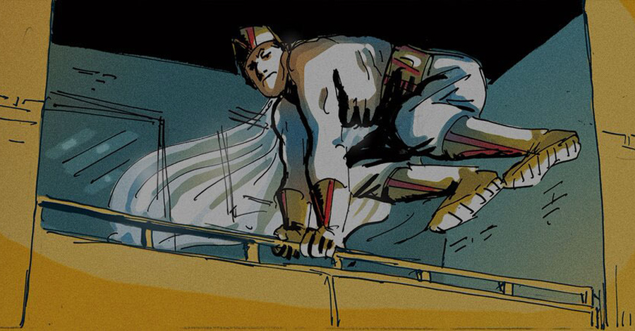 Smash Pages Q&A: A. David Lewis on 'Kismet, Man of Fate'