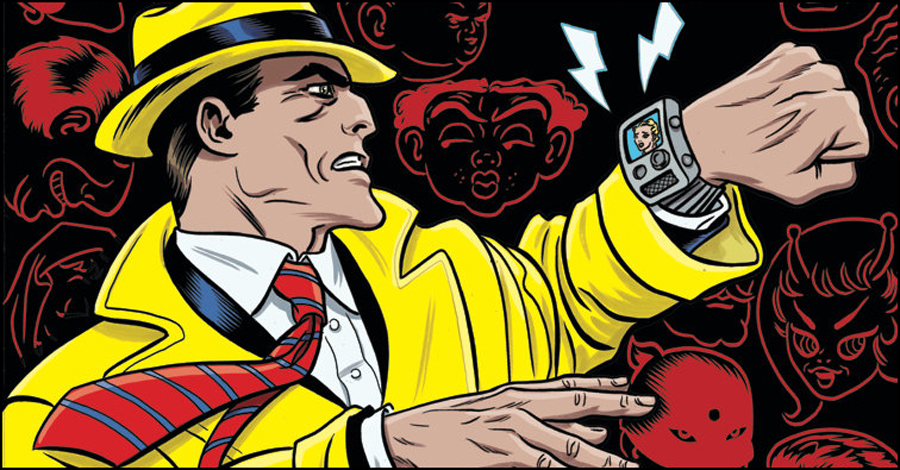 Tommaso + the Allreds bring Dick Tracy back to comics at IDW