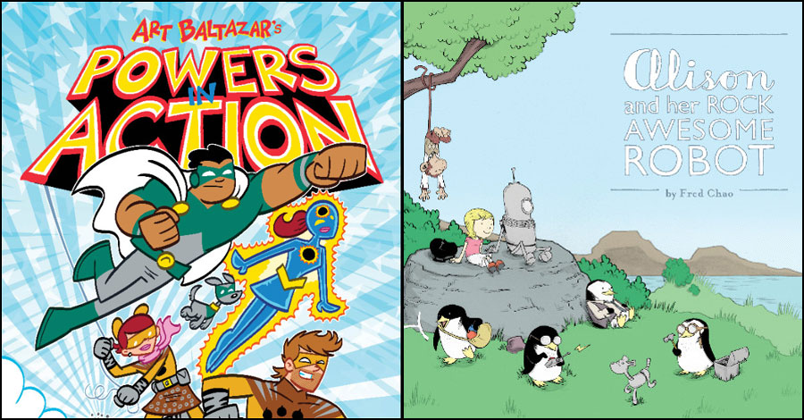 Action Lab announces new kid's imprint with titles by Baltazar, Chao