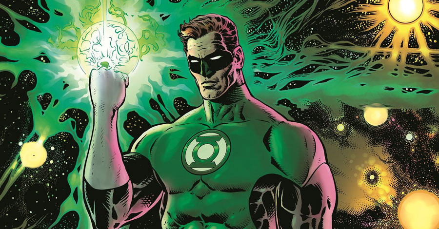Morrison + Sharp relaunch 'Green Lantern' in November