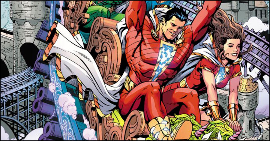 First look at Johns/Eaglesham 'Shazam!' series