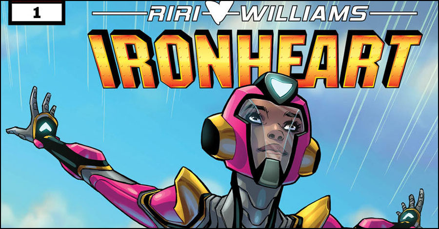 'Ironheart' soars into her own title this November