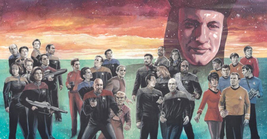 All the best Star Treks converge in IDW's 'Star Trek: The Q Conflict'
