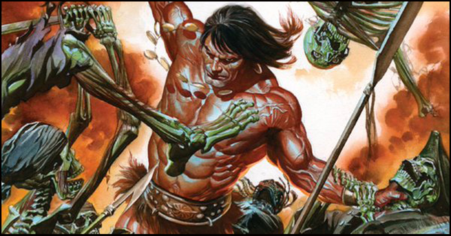 Conan draws his 'Savage Sword' again in February