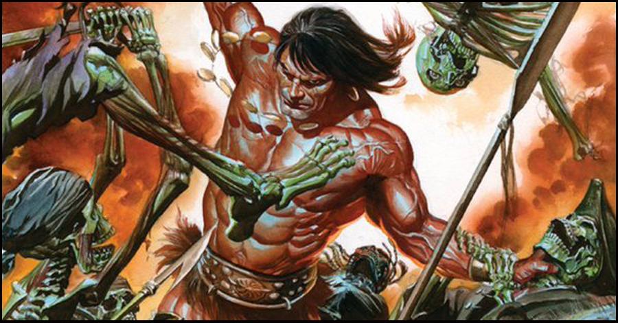 Conan draws his 'Savage Sword' again in February