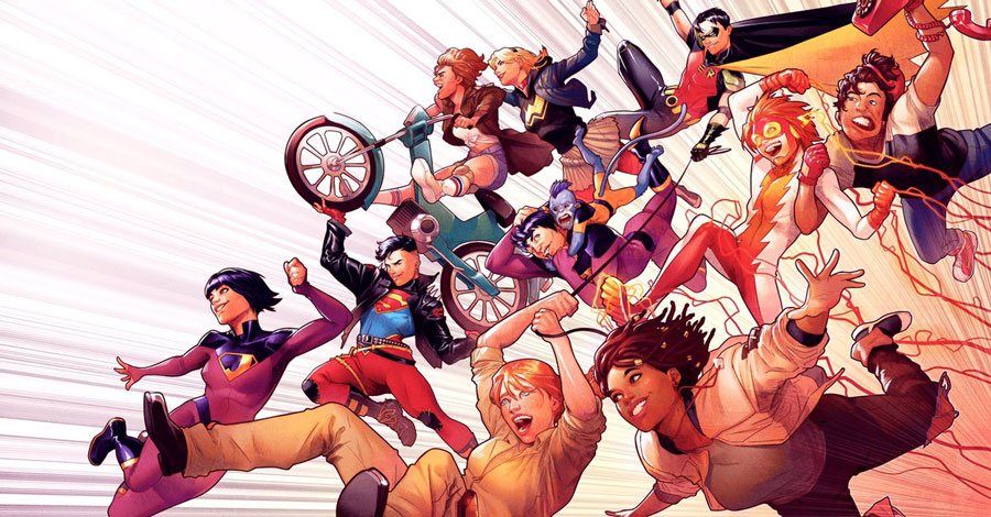 Bendis' Wonder Comics line to feature 'Young Justice,' 'Wonder Twins' and more