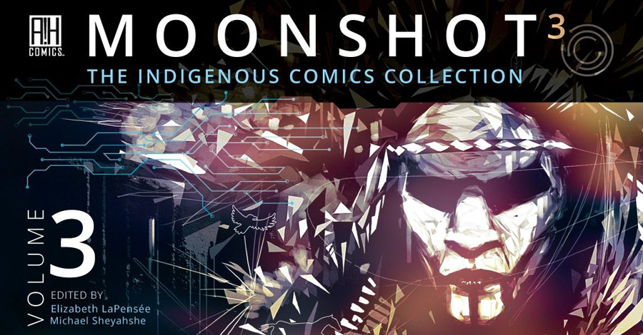Smash Pages Q&A: Michael Sheyahshe on 'Moonshot'