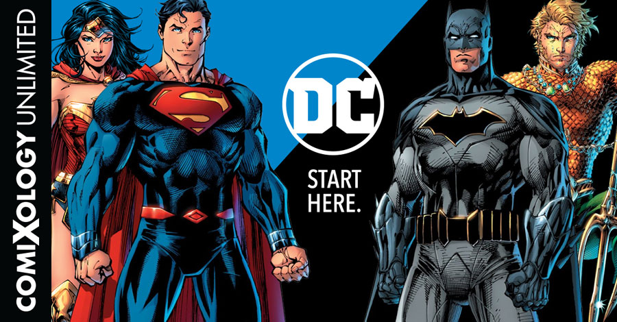 DC Comics titles now available via comiXology Unlimited
