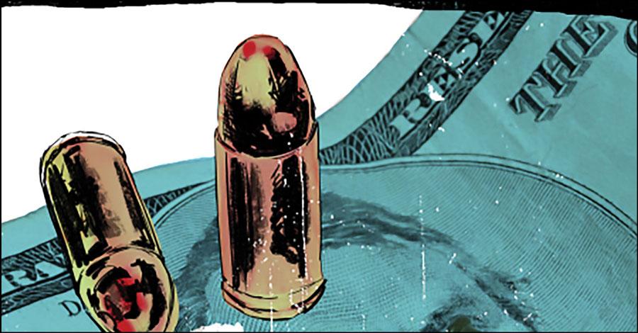 Ferrier, Malhotra smuggle  'Narcos' into comics