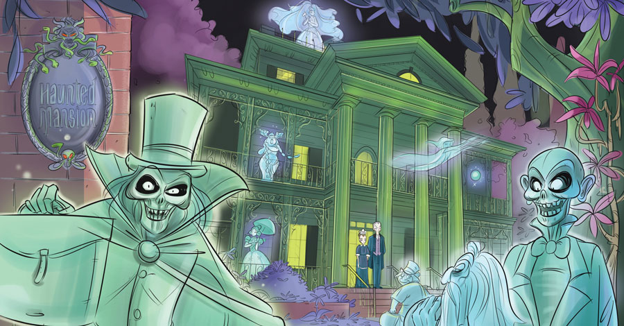 Grim grinning ghosts arrive at IDW