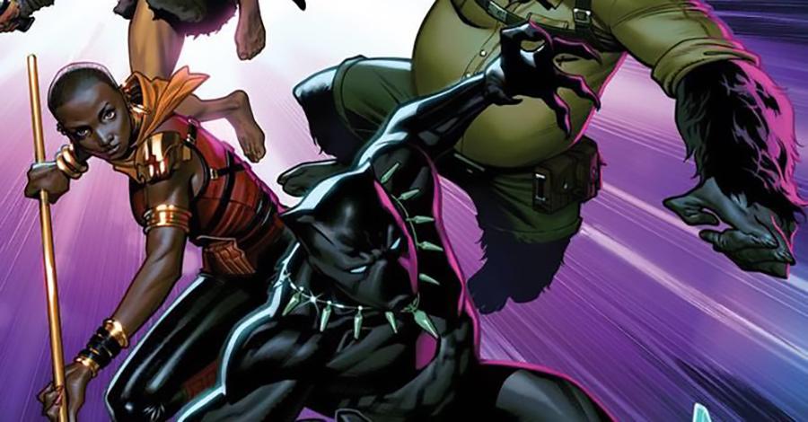 "Zub + Medina assemble ""Agents of Wakanda"" this September"
