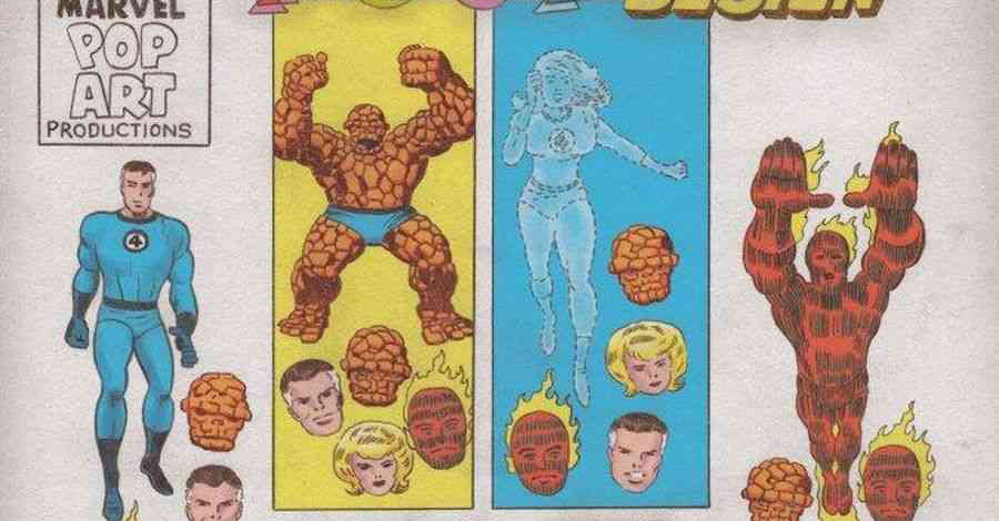 Fantastic Four gets the 'Grand Design' treatment courtesy of Tom Scioli