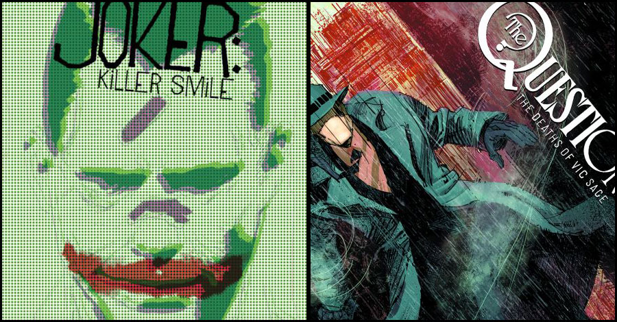 Jeff Lemire is working on The Question + The Joker for DC's Black Label