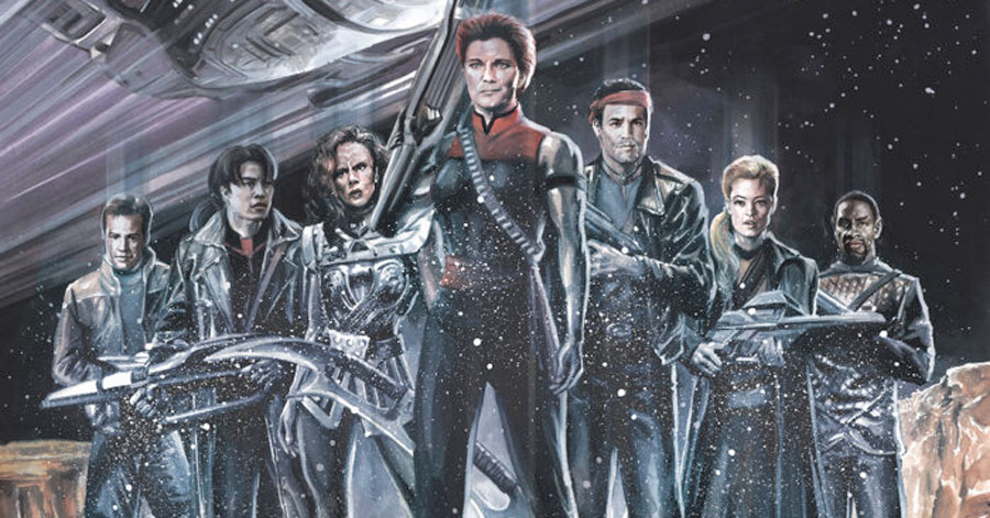 'Star Trek: Voyager' heads into the Mirror Universe in new one-shot