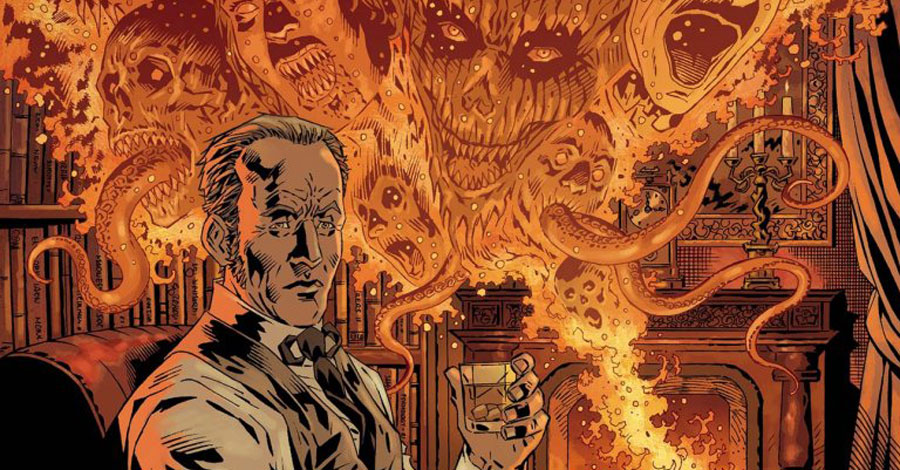 IDW brings Mahnke's 'Lore' podcast to comics