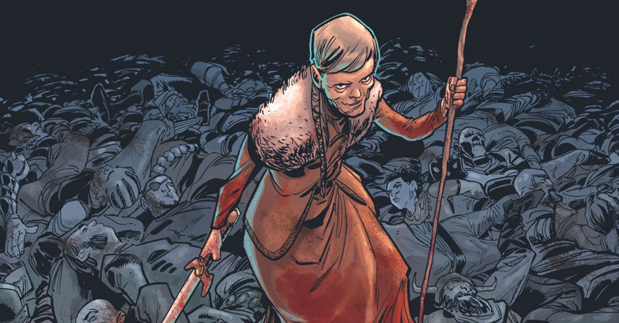 'Crone' fights one last time this November