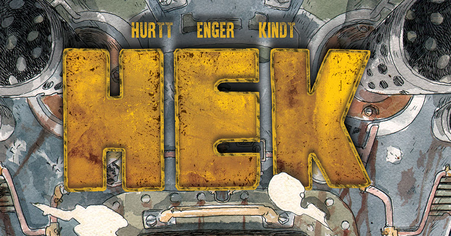 Smash Pages Q&A: Matt Kindt, Brian Hurtt + Marie Enger