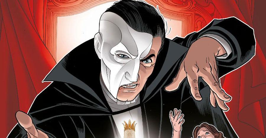 Titan is bringing 'The Phantom of the Opera' to comics