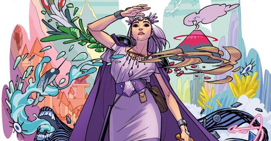 Amy Reeder to write and draw 'Amethyst' for DC