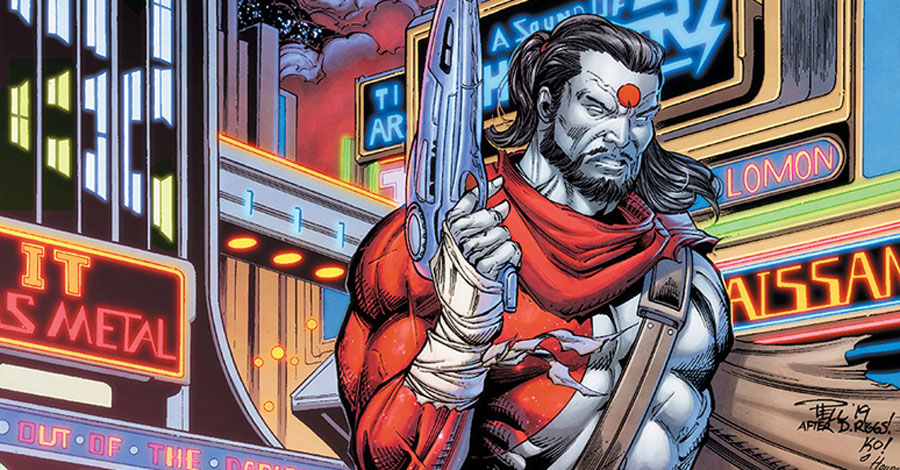 Dan Abnett pens a song about 'Rai'