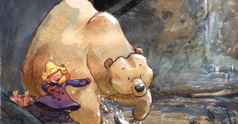 A girl and her bear: Top Shelf announces 'Kodi' for summer