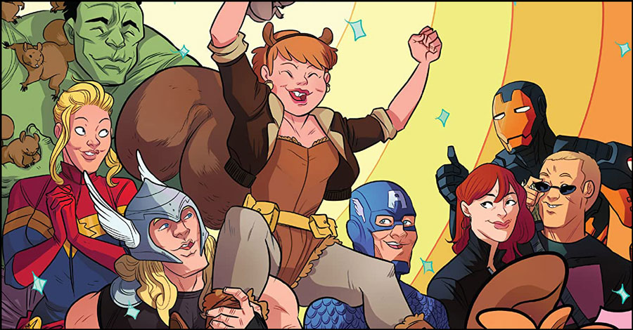 What Are You Reading? Squirrel Girl, Grendel and more!