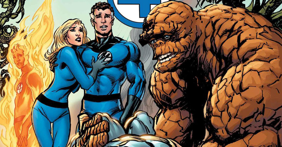 Waid + Adams team for a new Fantastic Four project