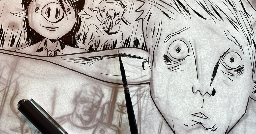 Lemire gives an update, reveals art from new 'Sweet Tooth' comic