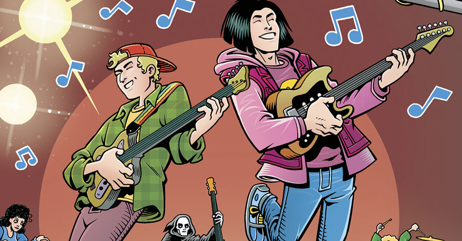 Dorkin + Langridge team for a new 'Bill & Ted' comic