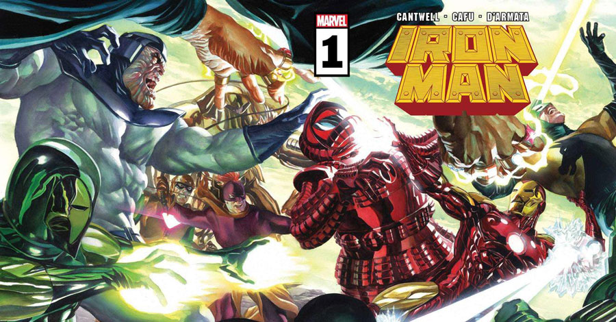 Cantwell + CAFU take over 'Iron Man'
