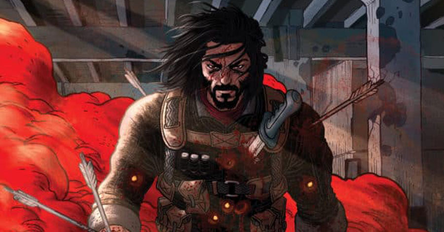 Keanu Reeves comes crashing into comics with 'BRZRKR'