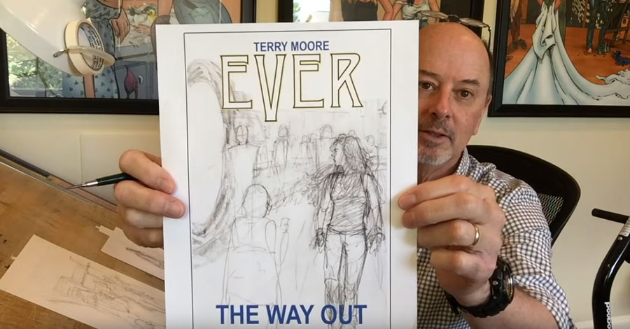 Terry Moore announces new graphic novel 'Ever: The Way Out'