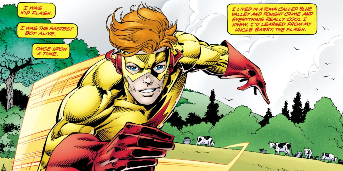 Wally West can't stop running
