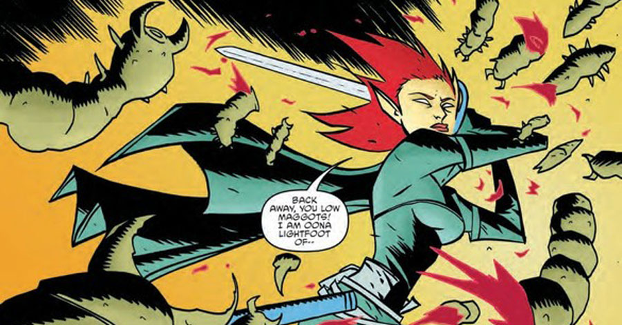 Smash Pages Q&A: Michael Avon Oeming