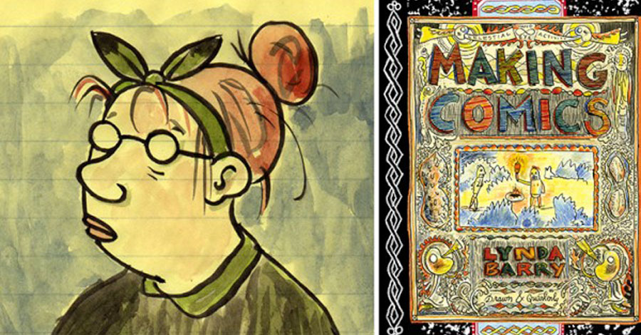 Lynda Barry wins the Reuben Award