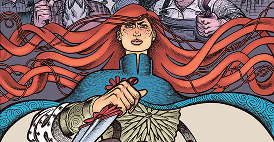 Kindt + Lesniewski tackle folk tales + conspiracies in 'Crimson Flower'
