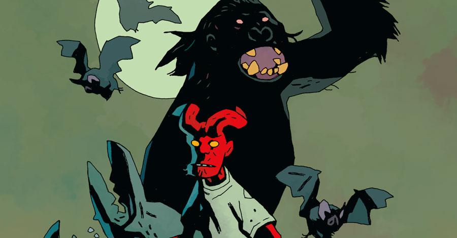 Dark Horse announces 'Young Hellboy: The Hidden Land'