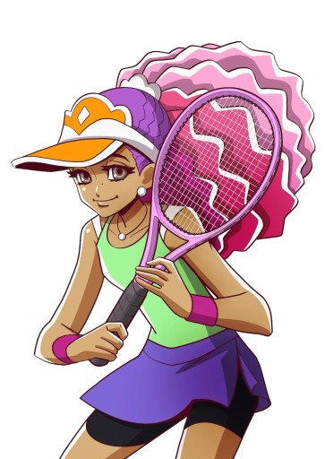 Manga drawing Naomi Osaka
