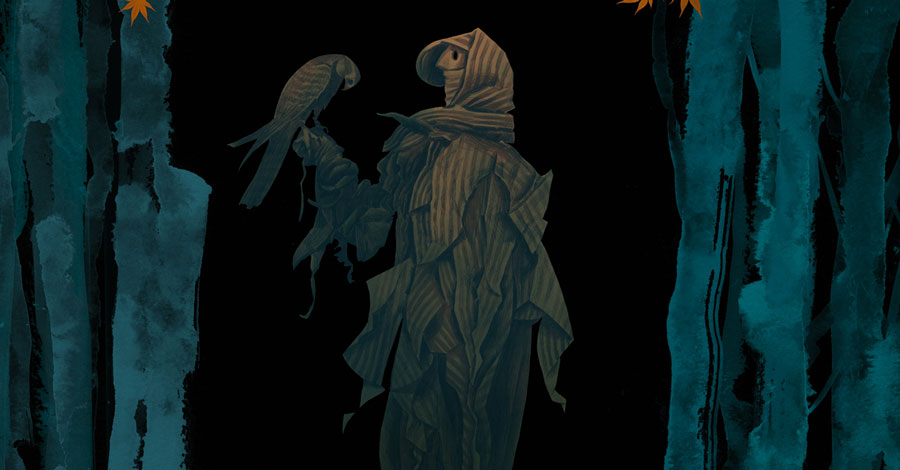 Dark Horse will publish Dave McKean's 'Raptor' next summer