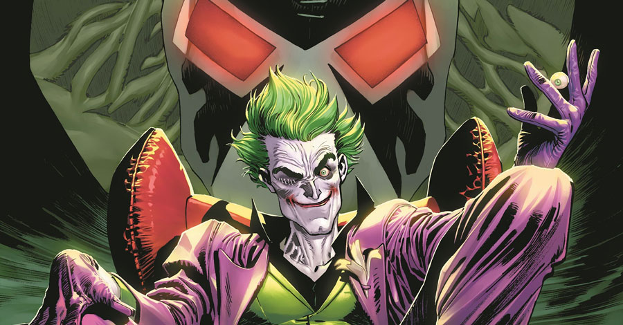 The Joker break out into his own monthly series in March